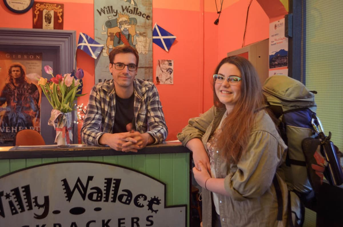 Willy Wallace Hostel, Stirling, Scotland