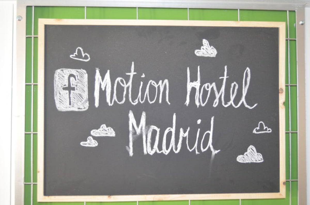 Madrid Motion Hostel, Madrid, Spain hostel