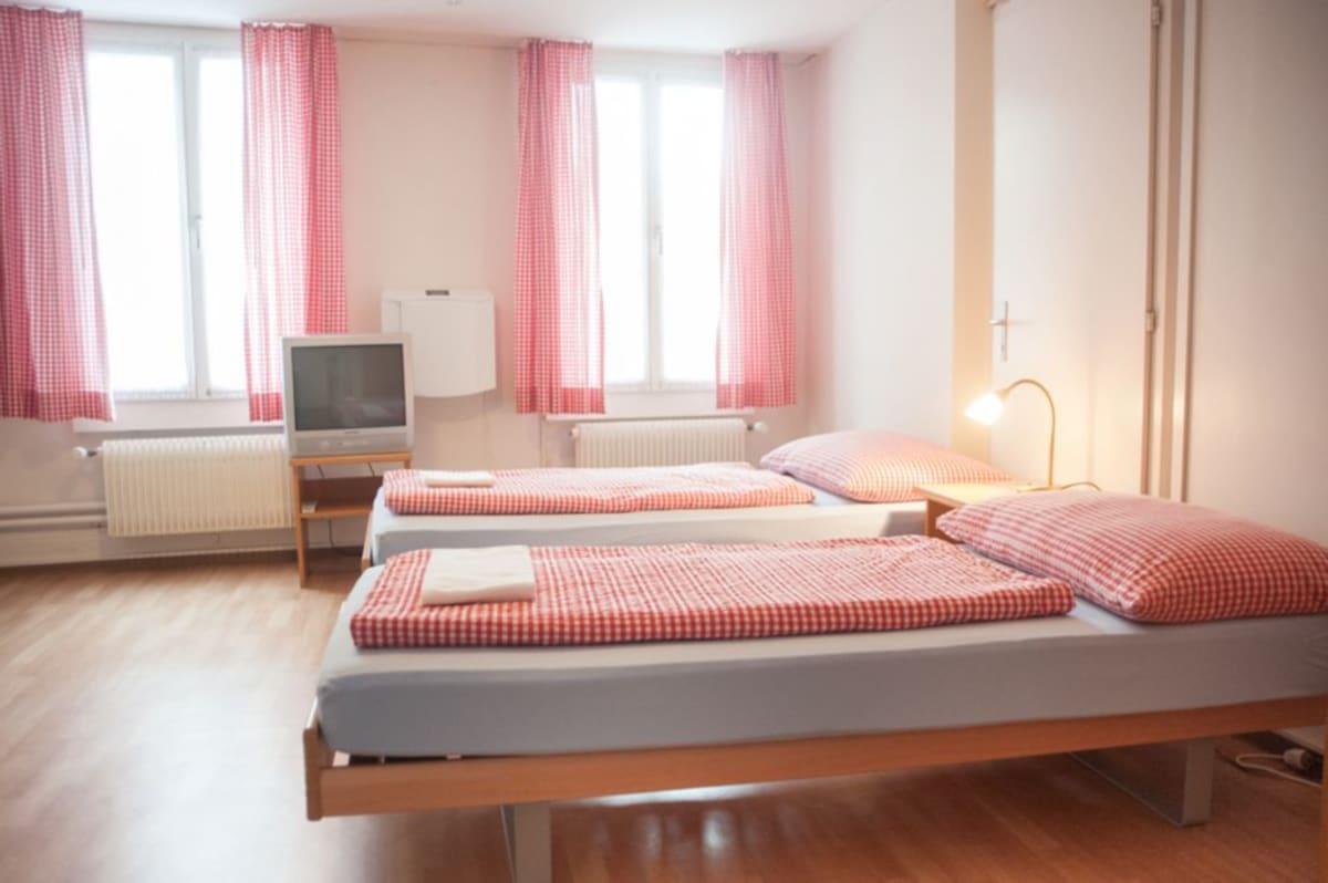 Balmers Hostel, Interlaken, Switzerland
