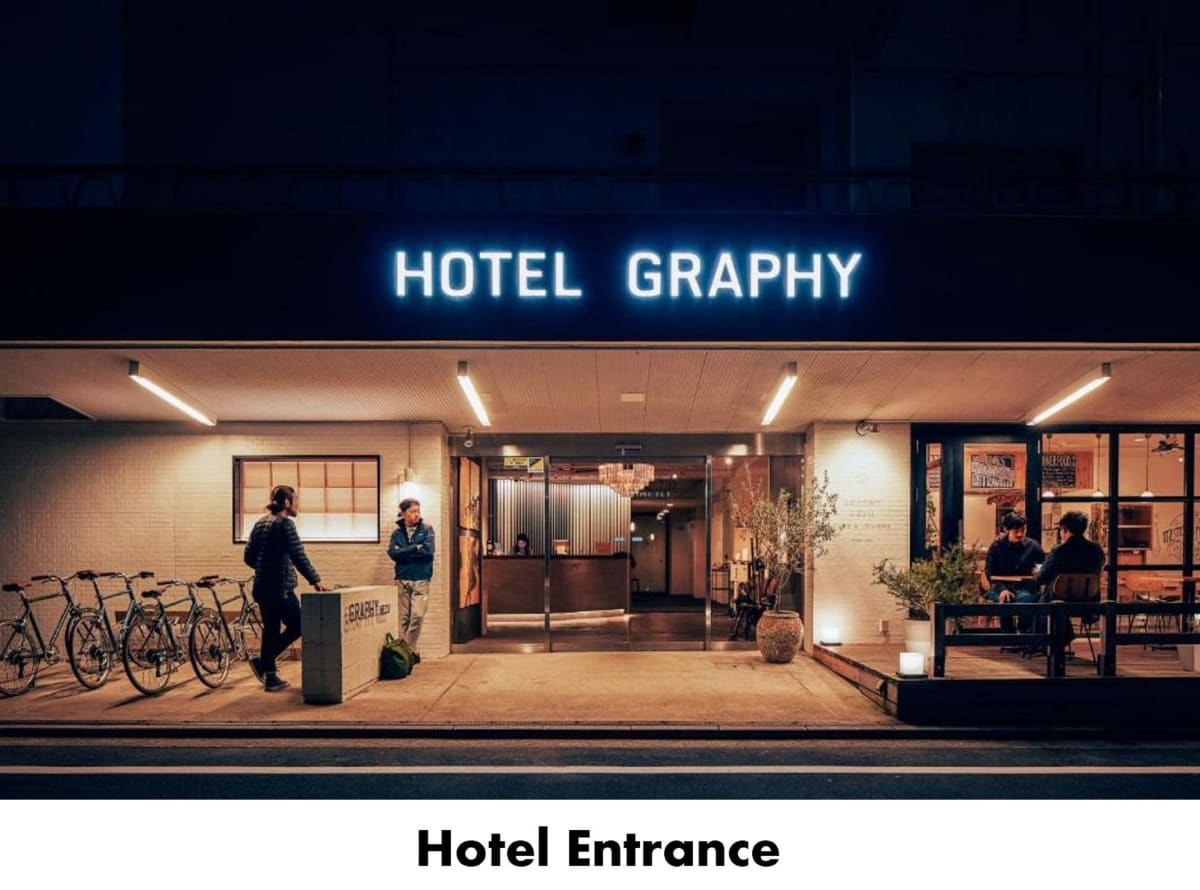 Hotel Graphy Nezu in Tokyo, Japan, Japan