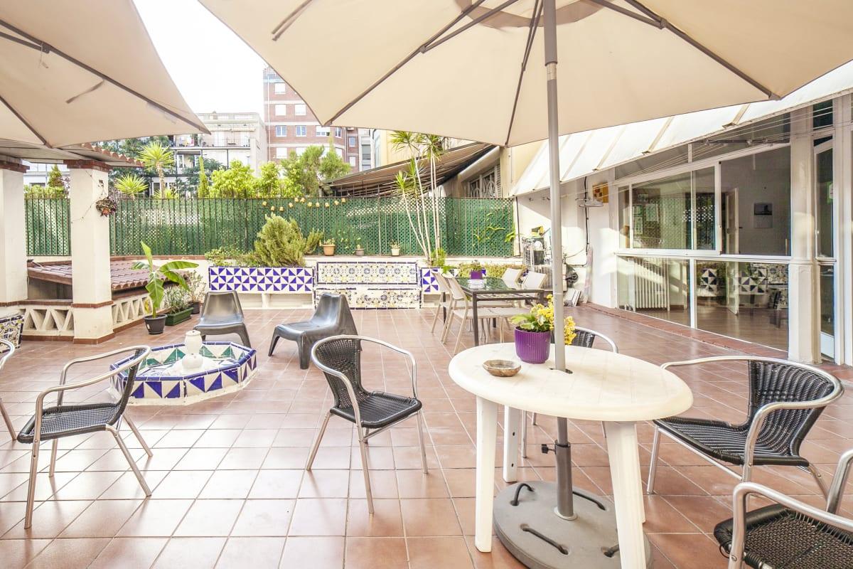 Fabrizzios Terrace Hostel, Barcelona, Spain hostel