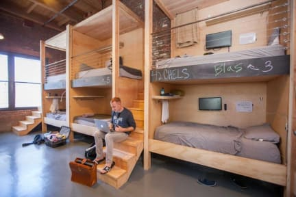 Hostel Los Angeles >> Podshare Arts District Los Angeles Usa Book Now