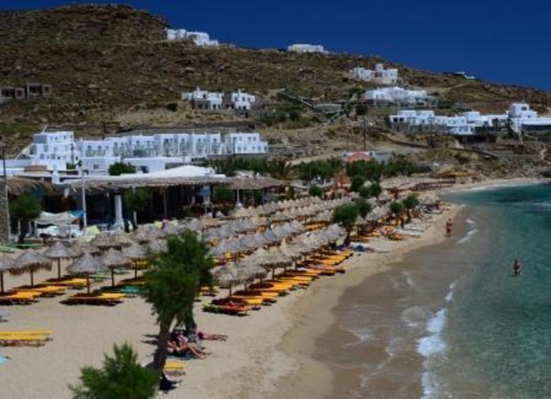 Paradise Beach Resort Mykonos Greece